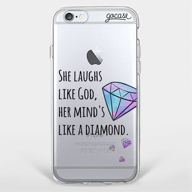 Custom Phone Case Like a Diamond