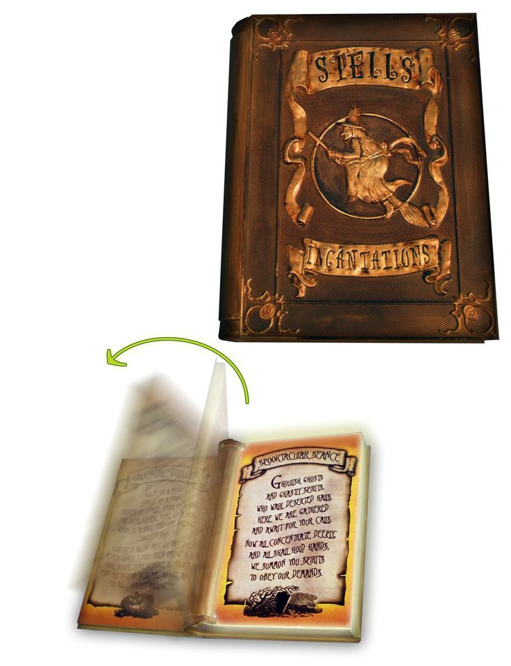 Check out Tekky Toys Motion-Activated Talking Witch's Spellbook - ShopYourWay