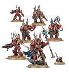 Chaos Space Marines Terminator Lords Cadre