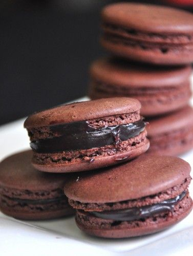 Easy Chocolate Macarons Recipe from The Maya Kitchen | Pinoy Food Cravings