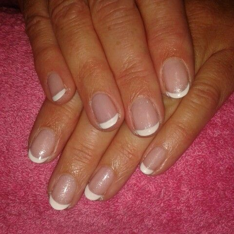 Gelish uv polish on natural nails