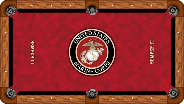 Marine corps pool table light iron blog for Table 6 usmc