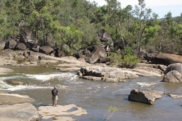 Best for riverside camping - Kwiambal National Park  NSW!