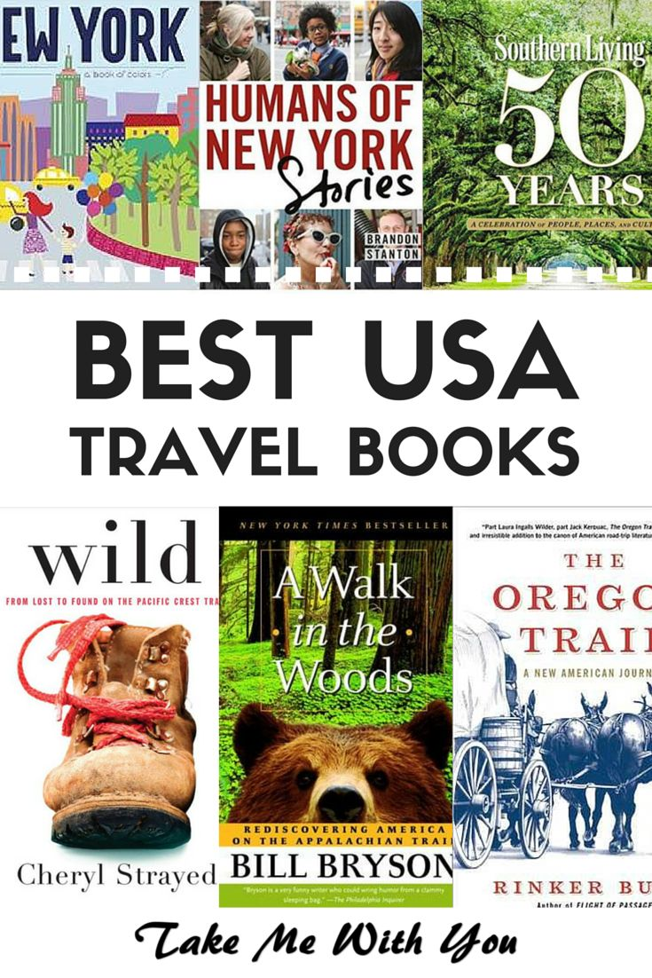 The 10 top bestselling USA travel books - have you read them all? Pin now!