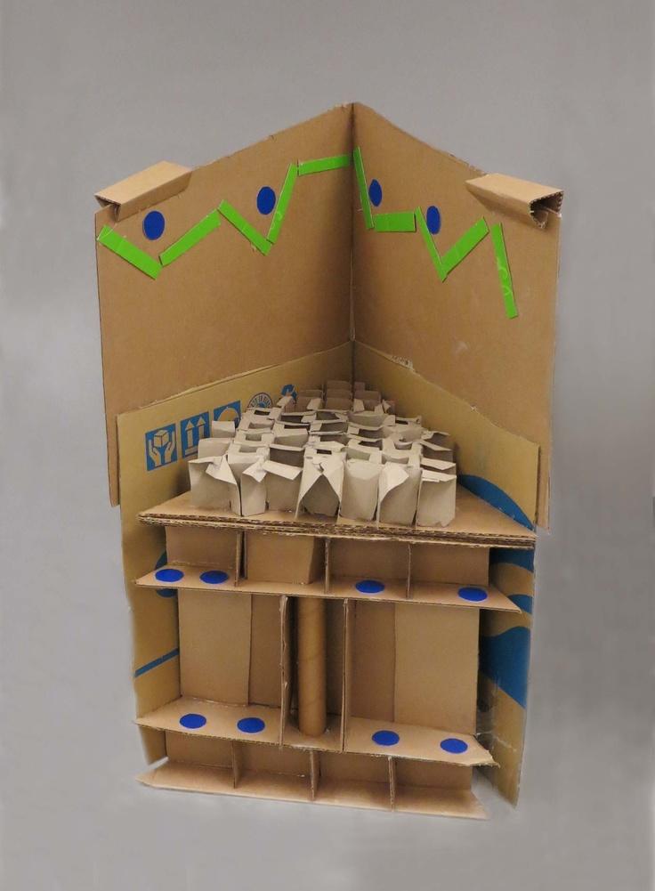 Structure- Unit 3- Card Board Chair