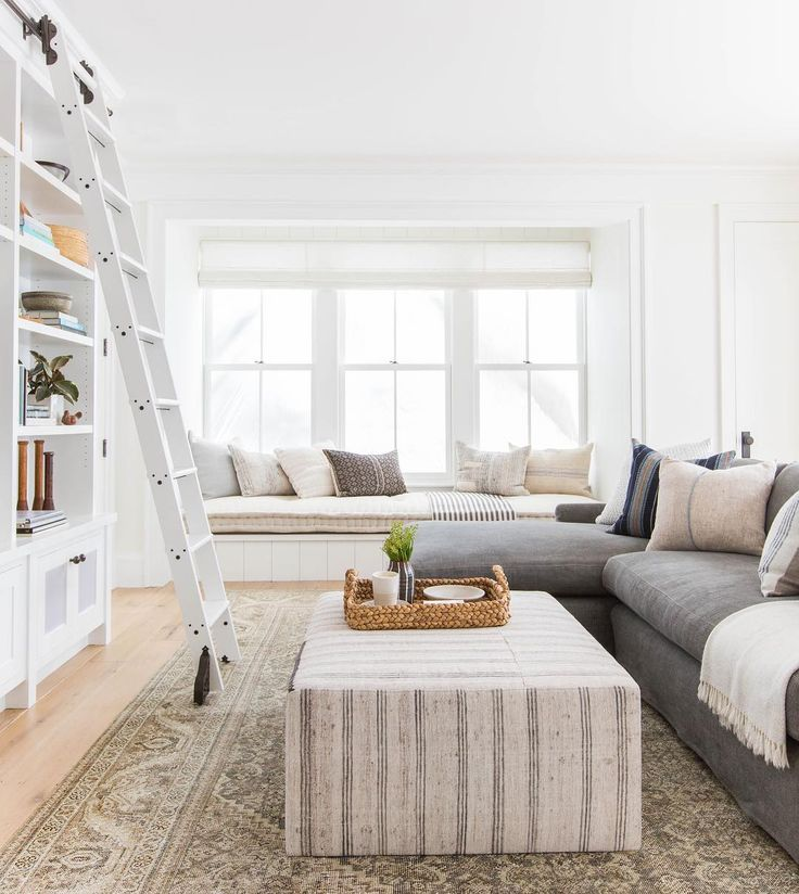 Living Room With Window Seat
