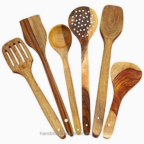 ITOS365 Handmade Wooden Spoons for Cooking and Serving Kitchen Tools, Set of 6  Check It Out Now     $30.00     Get the most value for your money with Top-Rated 6 Piece Wooden Cooking Utensil Set!  Add a contemporary look to you ..  http://www.handmadeaccessories.top/2017/03/22/itos365-handmade-wooden-spoons-for-cooking-and-serving-kitchen-tools-set-of-6-2/