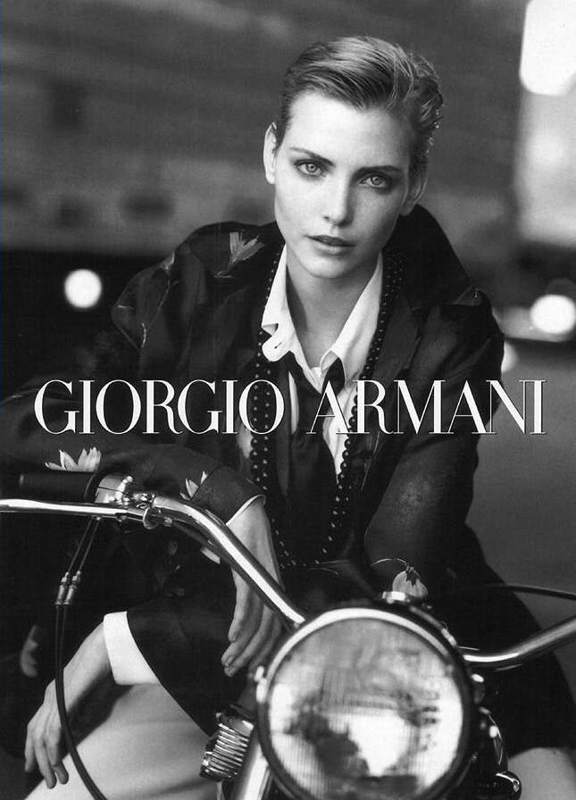 TBT | Nadja Auermann is Perfection in Armani's Fall 1996 Campaign