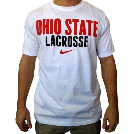 #LacrosseUnlimited Nike Ohio State Lacrosse Tee #ohio