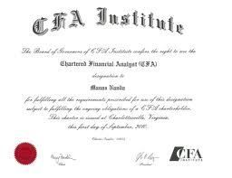CFA Institute Qualification... Could Your CFA Qualification Be Your Ticket To Wealth? #CFA