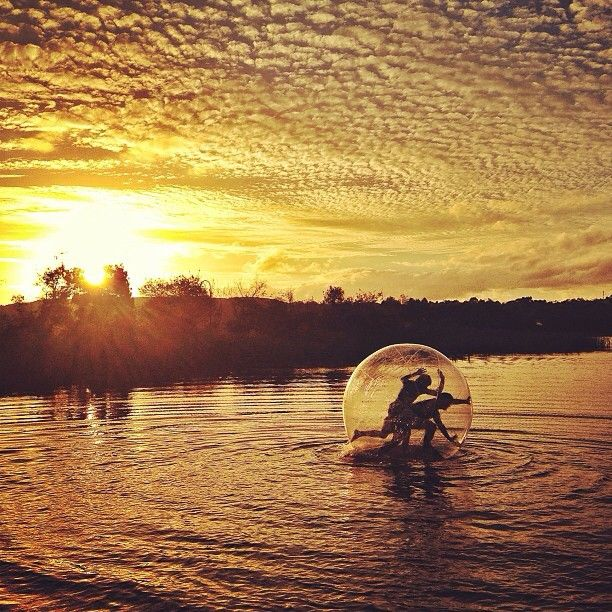 #Rolling along #Lilydale Lake in Victoria at #sunset