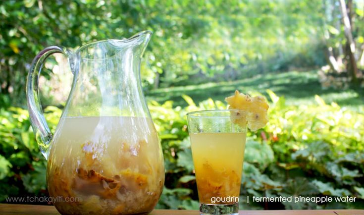 Goudrin or godrin or good drink, this word refers to a pineapple drink that is quite popular in Haiti for it is extremely refreshing on hot summer days.
