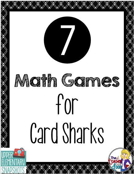 7 Math Games for Card Sharks
