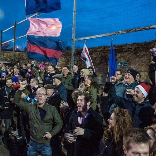 Drinking and chanting on the terraces with the communist super-fans of Dulwich Hamlet FC.