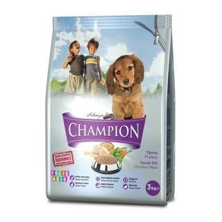 Champion Yavru Köpek Maması Folik Asit Katkılı Tavuk Etli