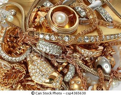 Luxe, gouden, accessoires, kostbaar, Stenen