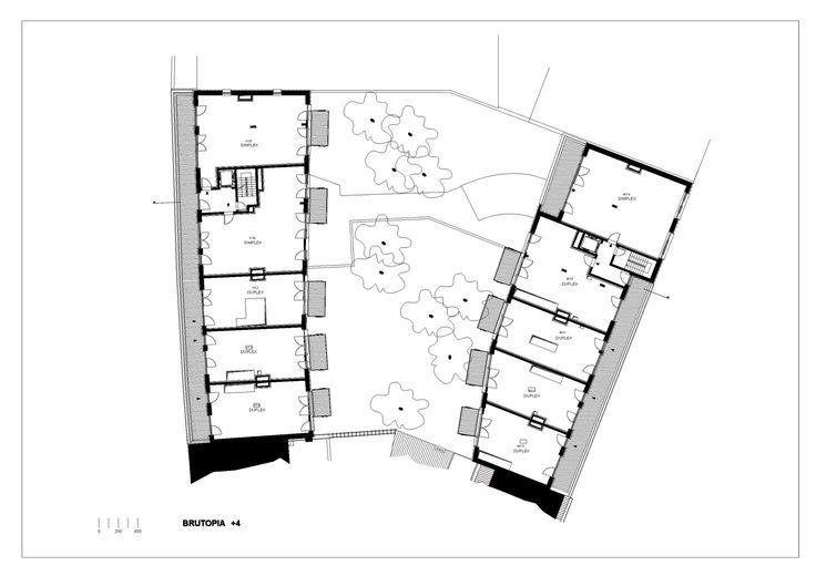 Image 35 of 37 from gallery of Brutopia  / stekke + fraas. Fourth Floor Plan