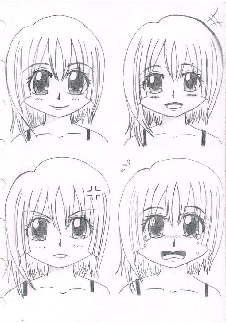 Faces by MinakoMina