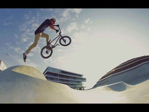 BMX Park Riding With Kriss Kyle At The StreetDome