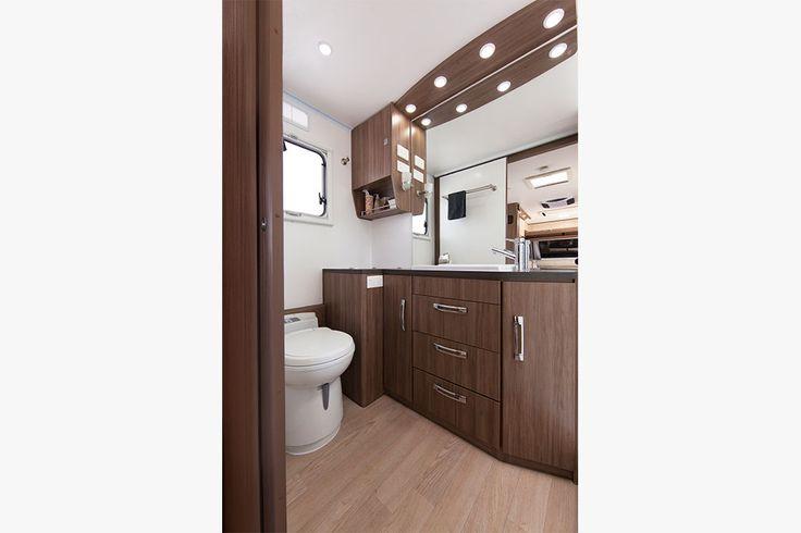 Silverline Caravan Toilet