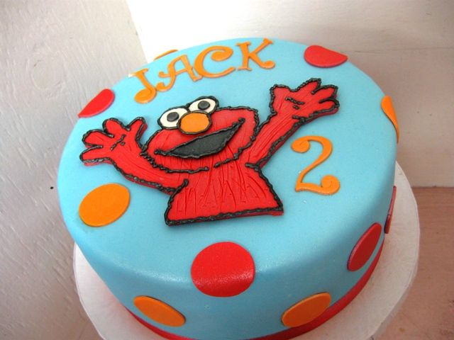 elmo birthday cake pictures | Elmo Birthday Cake II - Country Girl Cakes