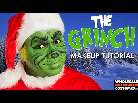 grinch makeup tutorial whcdoessfx wholesale halloween costumesmakeup - Wholesale Halloween Costumes Phone Number