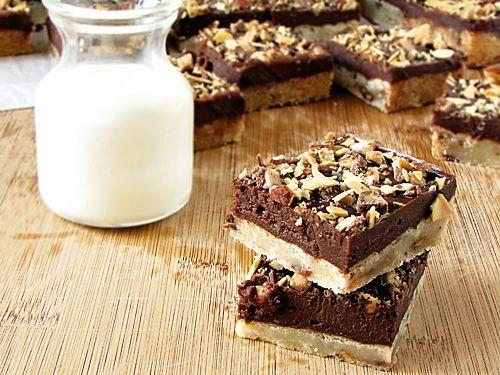 Mascarpone Chocolate Toffee Bars