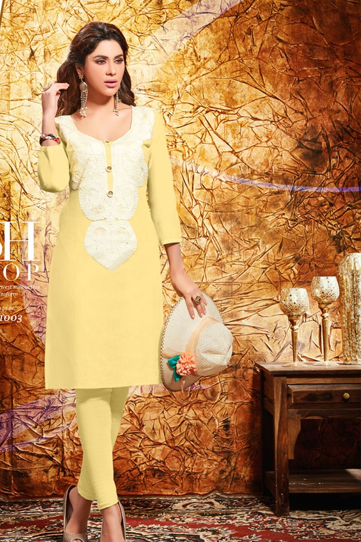 Designer Kurti For Functional Wear......Wear This Kurti And Look Stylish....
