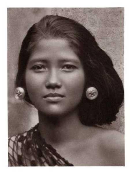 Javanese woman c.1930.