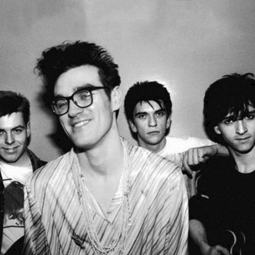 The Smiths. Great music, if a bit depressing. Someone once said that The Smiths make music for you to kill yourself to. I think it's pretty true. Still, quality band.