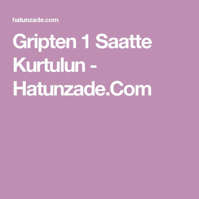 Gripten 1 Saatte Kurtulun - Hatunzade.Com