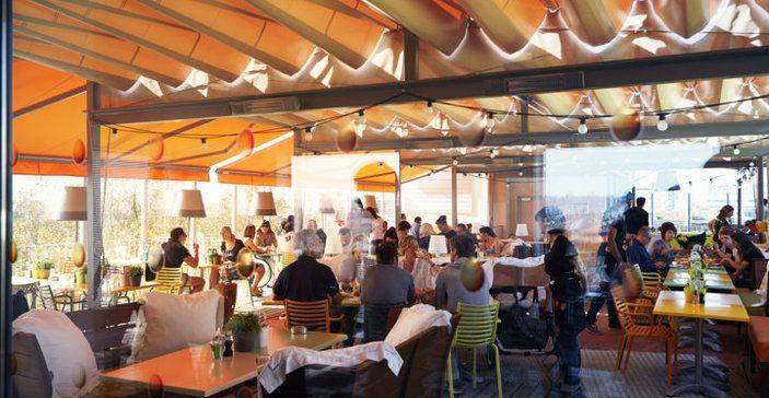 Mama Shelter Bordeaux | Rooftop design par Starck et plats faits maison