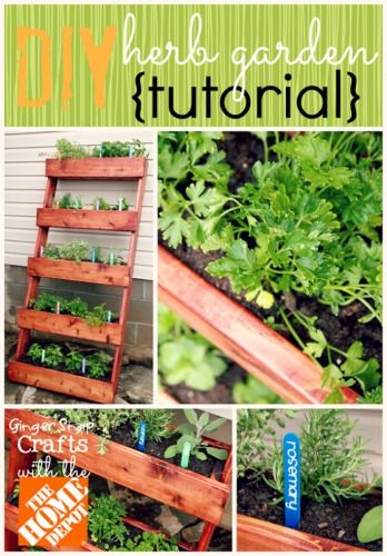The homestead survival herb garden stand diy project for Soil knife home depot