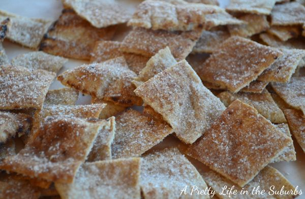 Whole Wheat Cinnamon Sugar Chips: Sugar Wholewheat, Cinnamon Wheat, Pretty Life, Wheat Cinnamon Sugar, Cinnamon Sugar Chips, Wheat Chips, Pita Chips