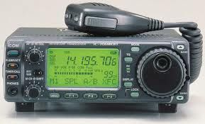 A Look At Ham Radio, I have three.  a hand held ICON, base ICONV800  mobile icon in car.