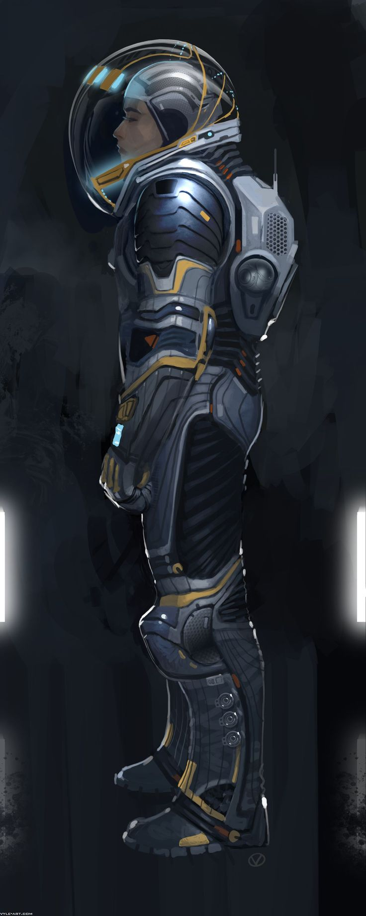67 best SCI-FI SPACESUITS images on Pinterest | Character ...