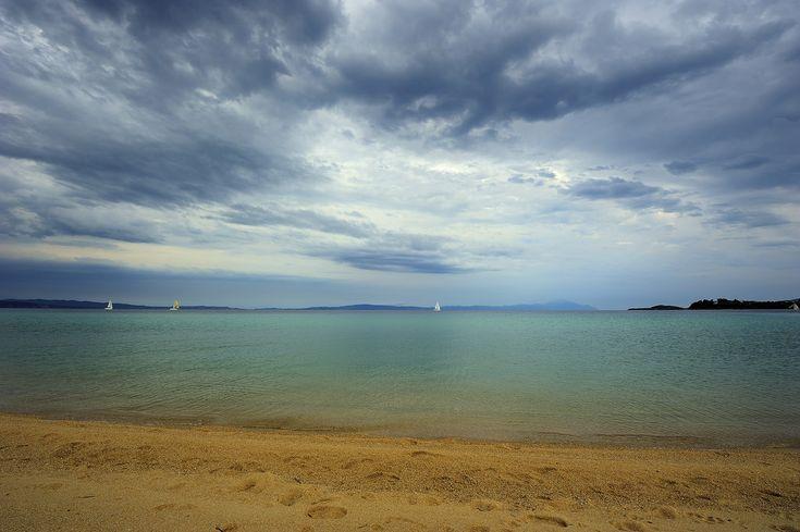 https://flic.kr/p/uvM6M3 | Beach | Aegean sea, Chalkidiki bay beach