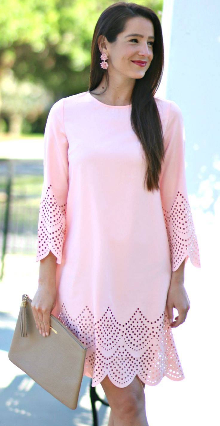 Best 25 pink wedding guest dresses ideas on pinterest for Dresses for spring wedding guest