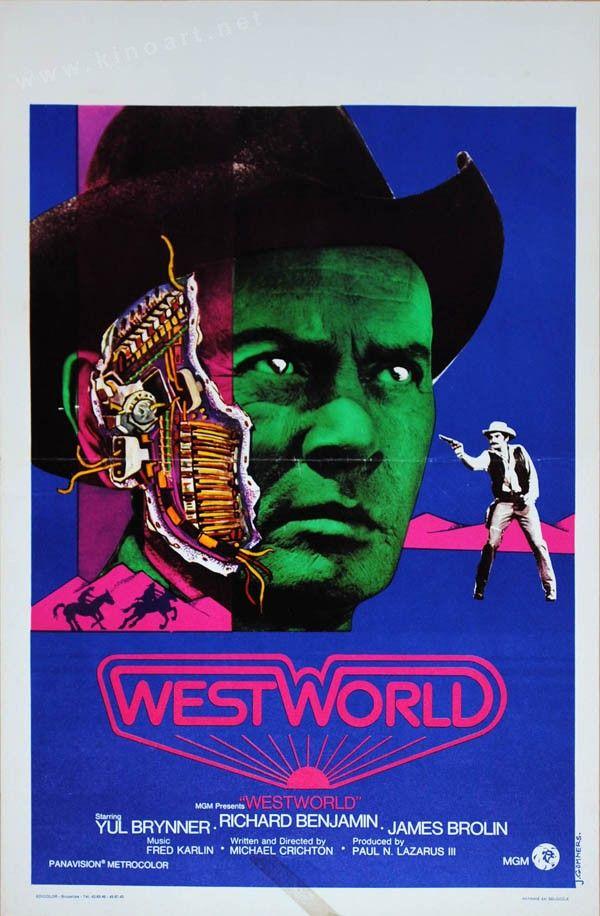 Westworld (Michael Crichton, 1973) Belgian design by J. Gommers