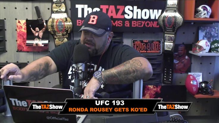 Taz goes into detail about why he believes Ronda Rousey's match over the weekend was fixed.