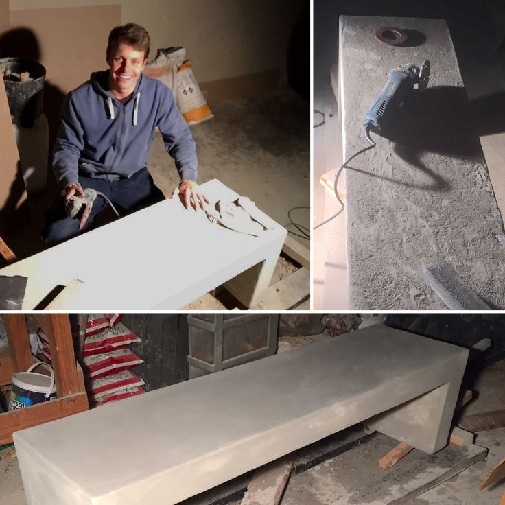 Hard graft for the perfect finish! Tom smoothing down the surface of the very first Ubuntu Bench. #tbt #OnwardsUpwards