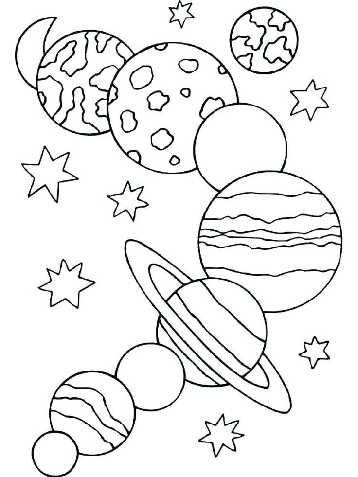 Free Printable Solar System Coloring Pages For Kids (With