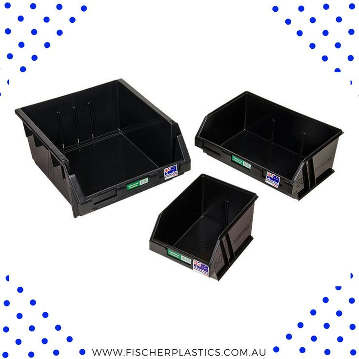 The Fischer Plastics Viro-Pak is produced from 100% recycled tough and durable Polypropylene, making them an environmentally friendly storage solution.