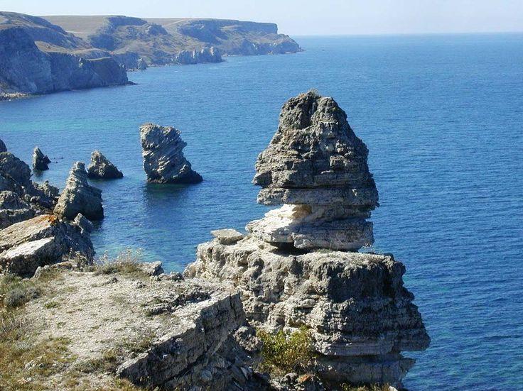 Крым. мыс Тарханкут. Привет. Подпишись на мой сайт. Спасибо. http://travelcrimea.webnode.ru/