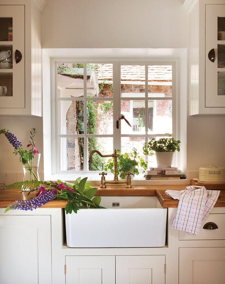Una casa de campo inglesa transformada con telas · ElMueble.com · Casas