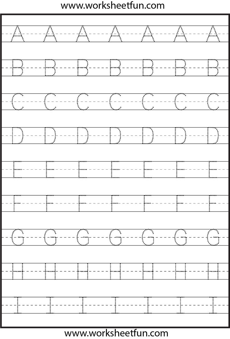 Worksheets Alphabet Tracing Worksheet 25 best letter tracing worksheets ideas on pinterest 3 worksheets