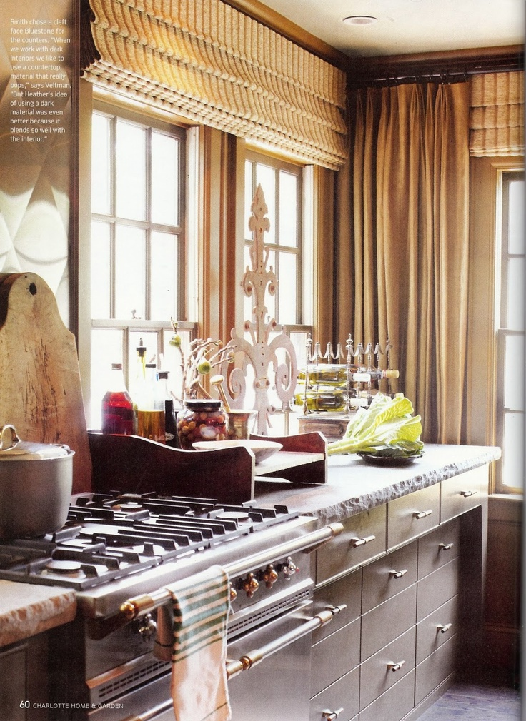 love the stove and cabinetry