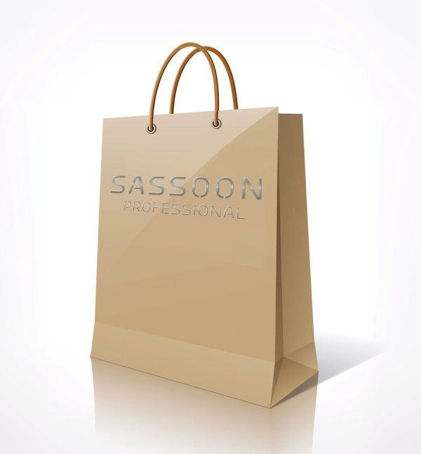 Sassoon Professional Paper Shopping Bag.