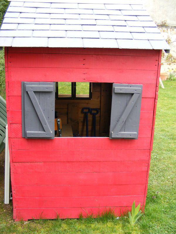 47 best Meubles palettes images on Pinterest Cabins, Garden deco - Construire Sa Maison En Palette