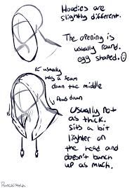 Image result for drawing hoods